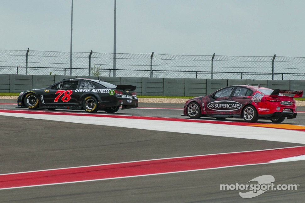 James Courtney and Kurt Busch