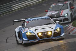 Johannes Stuck, Ferdinand Stuck, Michael AmmerMüller, Phoenix-Racing, Audi R8 LMS ultra