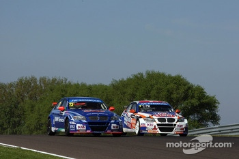 Fredy Barth, BMW E90 320 TC, Wiechers-Sport and Charles Ng, BMW E90 320 TC, Liqui Moly Team Engstler 