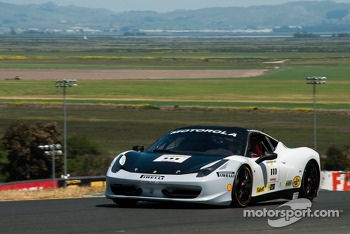 #111 Ferrari of Houston 458TP: Alfonso Celis