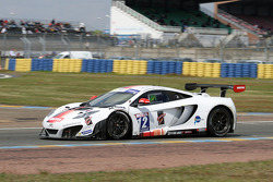 #12 Art Grand Prix Mc Laren MP4/12C: Grégoire Demoustier, Ulric Amado