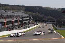 #2 Audi Sport Team Joest Audi R18 e-tron quattro Hybrid: Tom Kristensen, Loïc Duval, Allan McNish