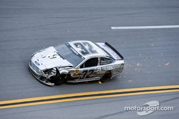 Terry Labonte after a big crash