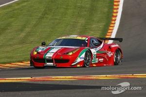 #51 AF Corse Ferrari F458 Italia: Gianmaria Bruni, Giancarlo Fisichella