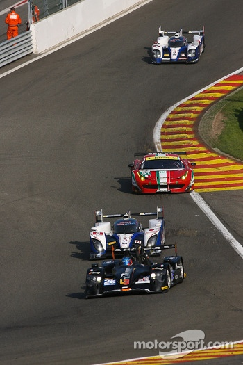Down to « Eau Rouge »