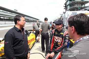 Kurt Busch and Michael Andretti