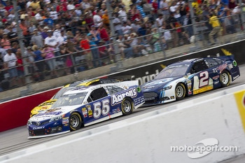 Mark Martin and Brad Keselowski