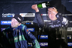 Podium: winner Daigo Saito, second place Darren McNamara