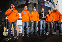 Pierre Kaffer, Marco Seefried, Norbert Siedler, Marc Hennerici, Jaap van Lagen and Christopher Brück