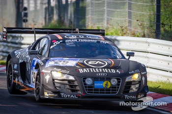 #29 Belgian Audi Club Team WRT Audi R8 LMS ultra (SP9): Laurens Vanthoor, Edward Sandström, Christopher Mies, Christopher Haase