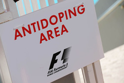 F1 Antidoping Area