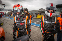 Matteo Cressoni and Michael Simpson