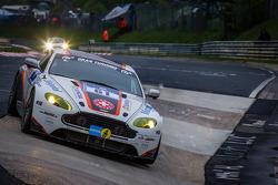#61 Team Bratke Aston Martin Vantage V8 GT4 (SP10): Oliver Louisoder, Uwe Legermann, Scott Preacher, Thomas Heinrich