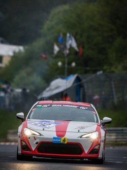 #212 Toyota Swiss Racing Team Toyota GT86 (V3): Frédéric Yerly, Roland Schmid, Benjamin Leuenberger, Bruno Staub
