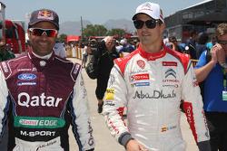 Nasser Al-Attiyah and Daniel Sordo