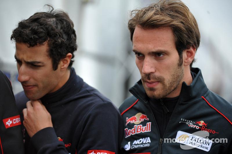Daniel Ricciardo and Jean-Eric Vergne, Scuderia Toro Rosso