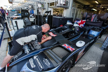 Strakka Racing team member at work