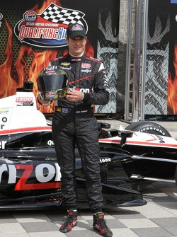 Polesitter Will Power, Team Penske Chevrolet