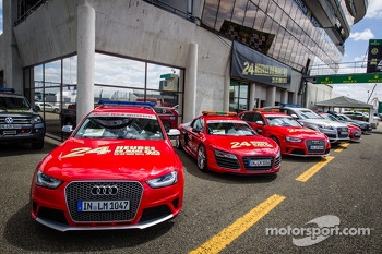 Safety cars for the 2013 24 Hours of Le Mans