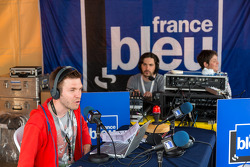 Radio broadcast from Scrutineering