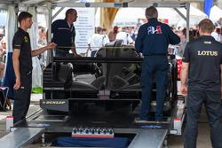 #32 Lotus Praga LMP2 Lotus T128: Thomas Holzer, Dominik Kraihamer, Jan Charouz