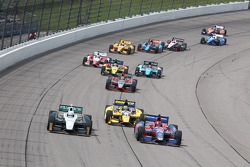 INDYCAR: Race action