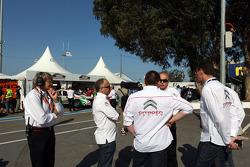 Citroën visits WTCC paddock