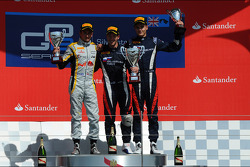 Podium: race winner Sam Bird, second place Stéphane Richelmi, third place Tom Dillmann