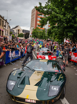 Ford GT 40 parade
