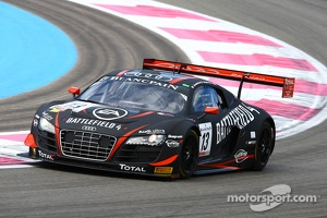 #13 Belgian Audi Club Team WRT: Frank Stippler, Edward Sandstrom, Christopher Mies, Audi R8 LMS Ultra