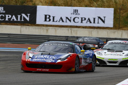 #53 Sport Garage: George Cabannes, Leonardo Gorinni, Romain Brandela, Ferrari 458 Italia