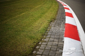 Kerbs on the circuit