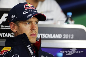 Sebastian Vettel, Red Bull Racing ion the FIA Press Conference