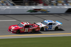 Justin Allgaier and Kyle Larson