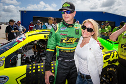 Kurt Busch with girlfriend Patricia Driscoll
