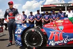 Polesitter Marco Andretti, Andretti Autosport Chevrolet