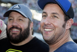 Comedians Adam Sandler and Kevin James