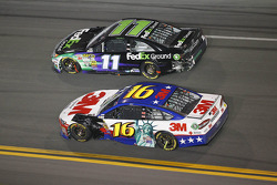 Greg Biffle and Denny Hamlin