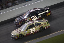 Ryan Newman and Jeff Burton