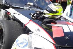 Sunday Open race - Josh Burdon winning car