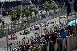 Race grid for standing start