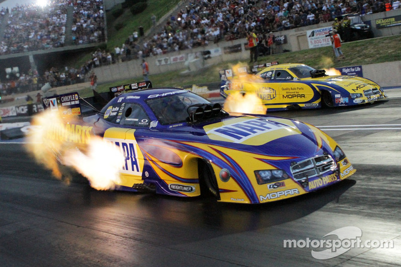 Ron Capps and Matt Hagan