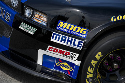 Detail of Trevor Bayne's car