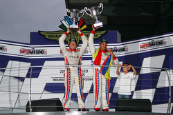 Race winners Alex Popow and Ryan Dalziel