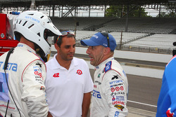 Juan Pablo Montoya and Tony Kanaan