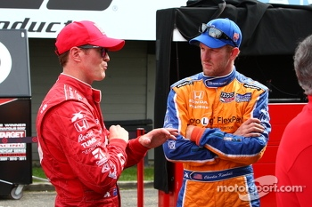 Scott Dixon and Charlie Kimball