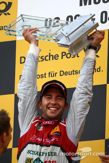 Winner Mike Rockenfeller, Audi Sport Team Phoenix Racing Audi A5 DTM