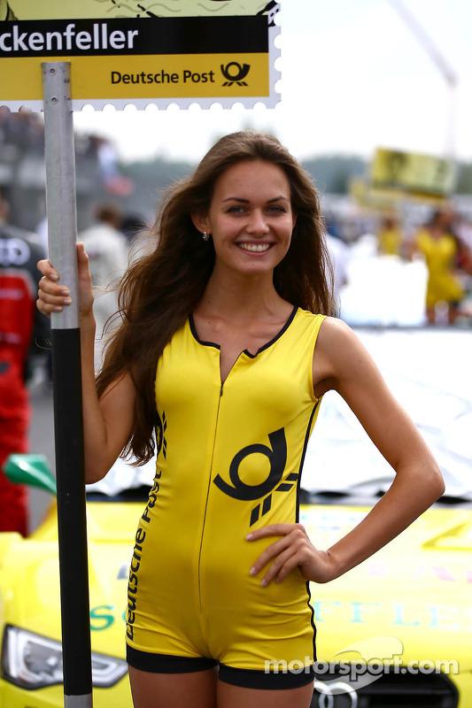 Grid Girl Of Mike Rockenfeller Audi Sport Team Phoenix