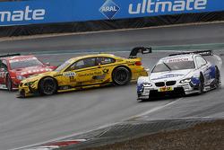 Daniel Juncadella, Mercedes AMG DTM-Team Mücke DTM Mercedes AMG C-Coupe, Timo Glock, BMW Team MTEK BMW M3 DTM, Dirk Werner, BMW Team Schnitzer BMW M3 DTM
