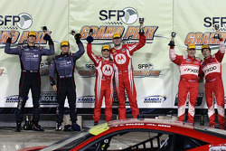 GT winners Leh Keen, Alessandro Balzan